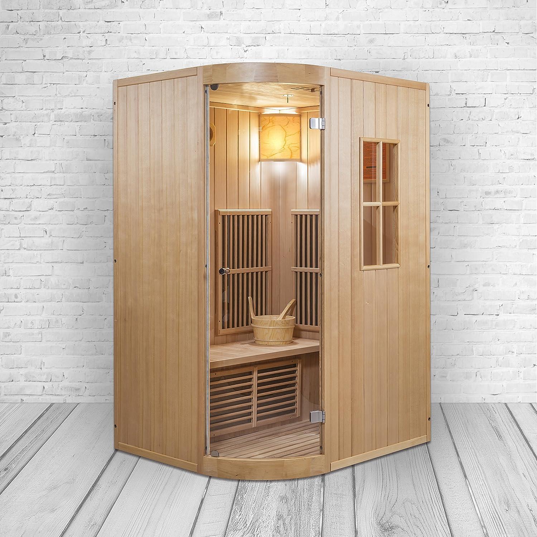 Kombinationsmodell von Sauna und Infrarotkabine