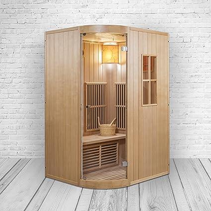 Berühmt Kombinationsmodell von Sauna & Infrarotkabine in Einem WP46