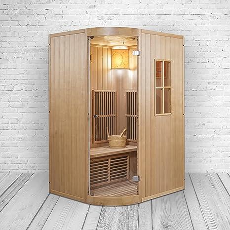 Trade-Line-Partner Combinación de Sauna y Cabina de Infrarrojos