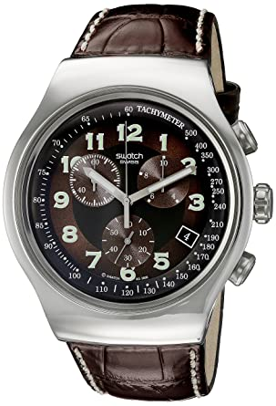 Swatch Irony The Chrono Your Turn Yos 413 - Reloj de caballero de cuarzo, correa