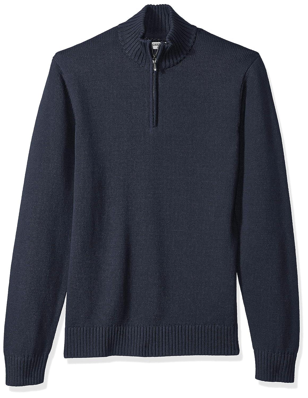sudadera Hombre Marca Goodthreads Soft Cotton Quarter Zip Sweater