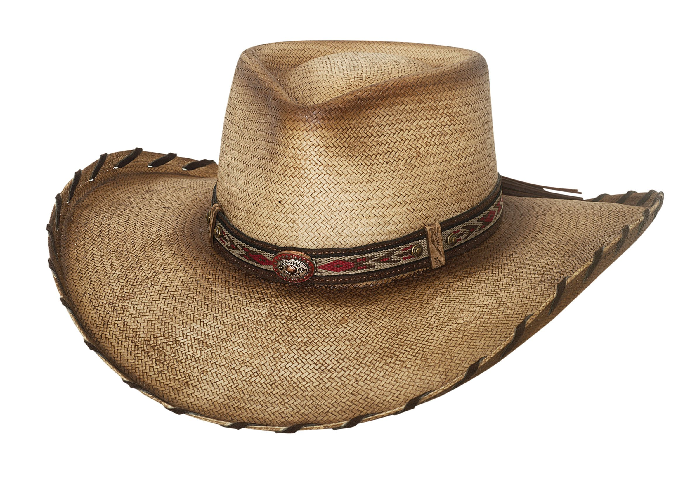 Bullhide Good Company - Straw Cowboy Hat (Small) by Bullhide Hats (Image #1)