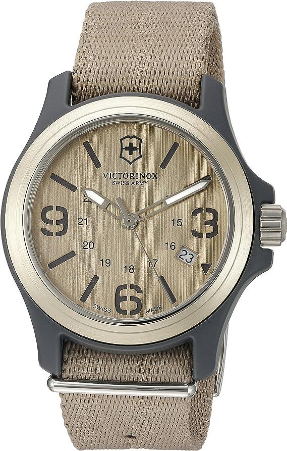 Victorinox Swiss Army Men's Original Swiss Quartz Watch with Nylon Strap