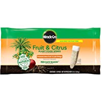 Deals on 12-Pack Miracle-Gro Fruit & Citrus Plant Food Spikes