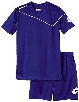 Lotto Shirt mit Short Kit Sigma JR Equipación, niño, Azul (Royal),