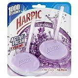 Harpic Cageless Toilet Blocks Lavender, 2 Blocks