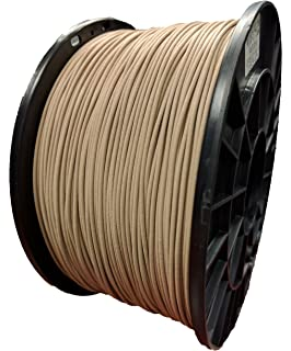 Wood 3D Printing Filament 1.75mm - Wood 1 Roll 1 Kg 2.2 lbs.