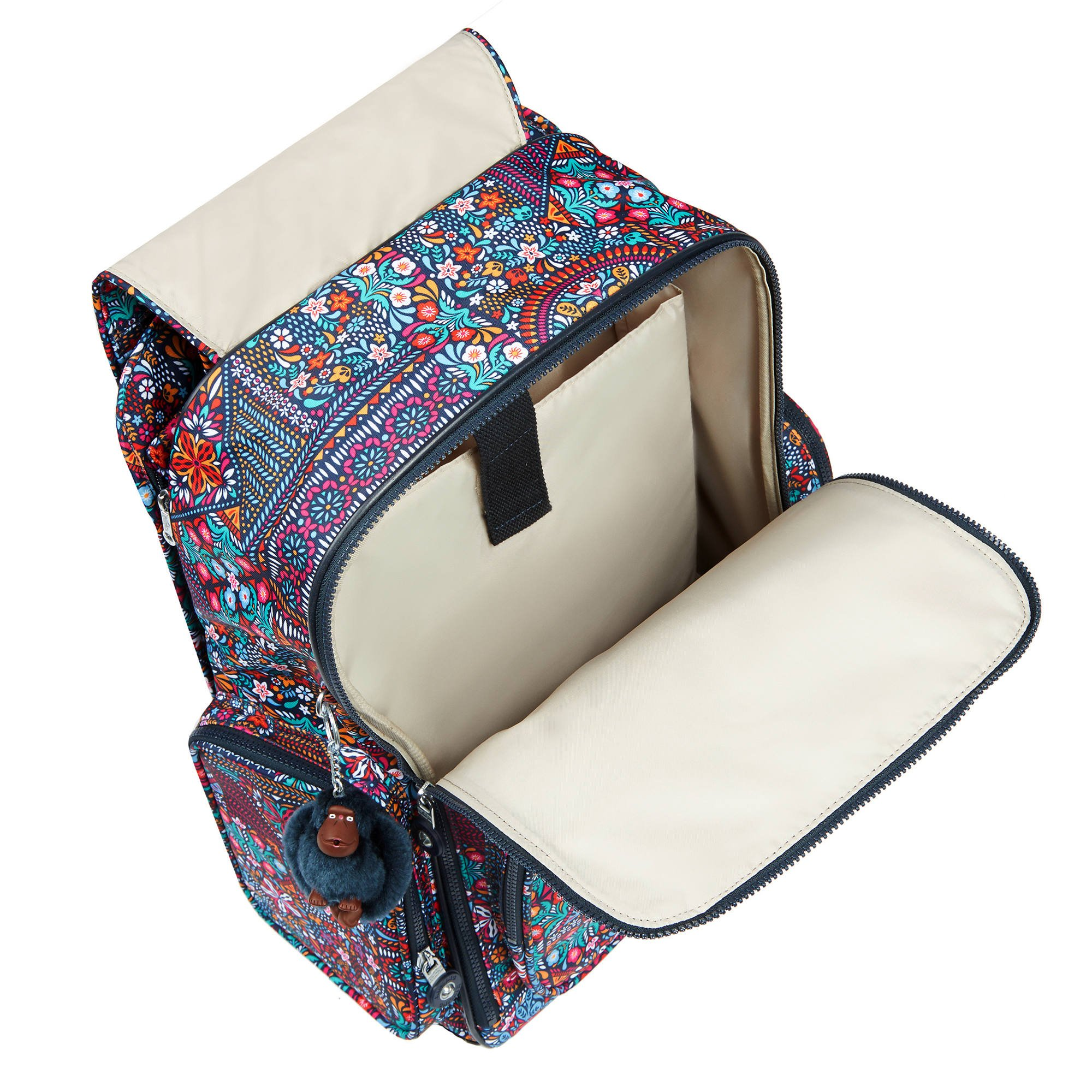 Kipling Women's Alcatraz Ii Printed Rolling Laptop Backpack One Size Dizzy Darling Multi by Kipling (Image #2)