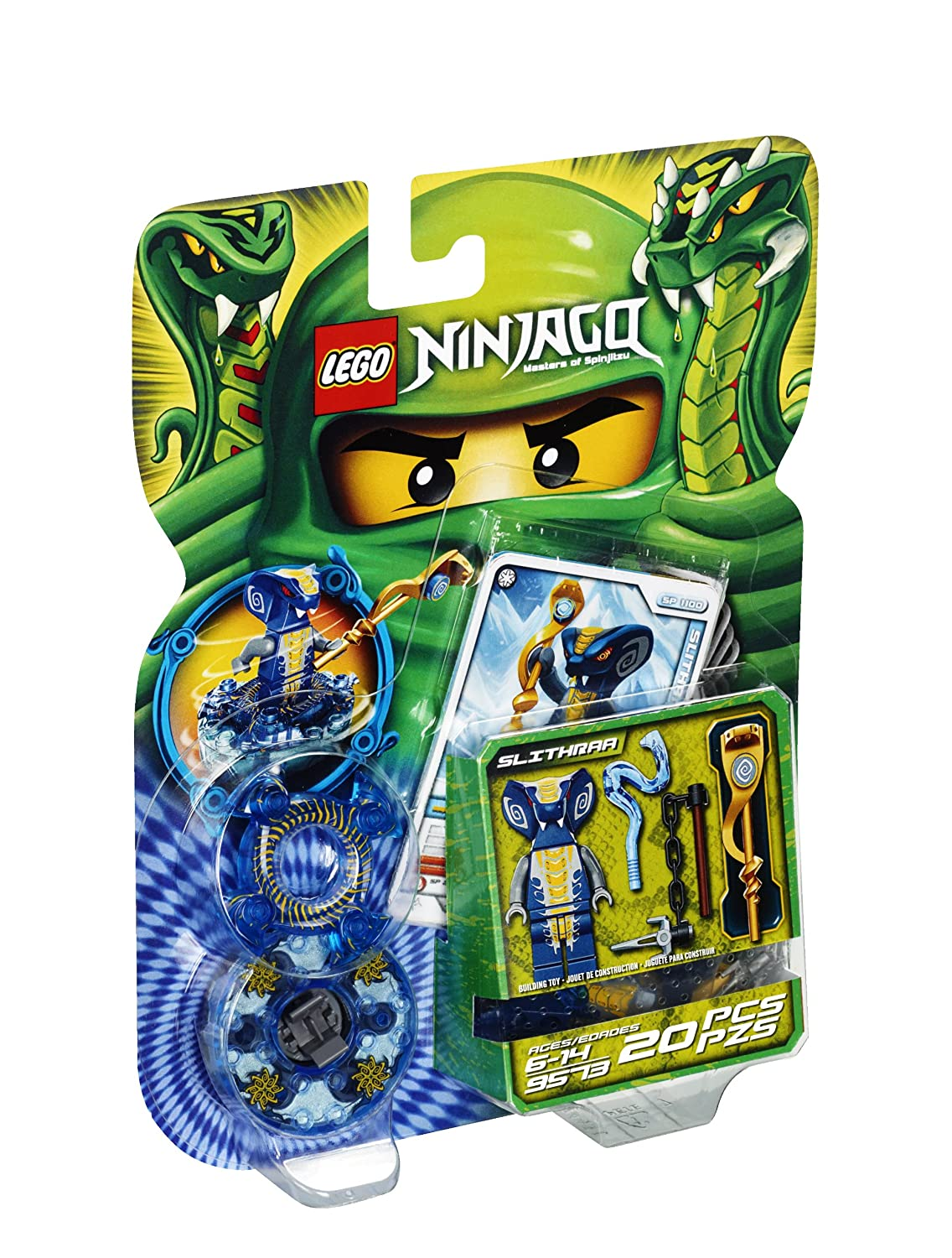Amazoncom LEGO Ninjago Slithraa Toys Games - 16 imaginative lego ads that celebrate the power of fantasy 2