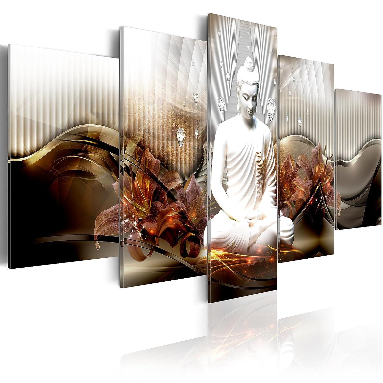 Murando - Acrylglasbild Abstrakt 200x100 cm - 5 Teilig - Bilder Wandbild - modern - Decoration h-C-0043-k-n