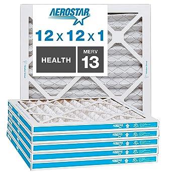 """Box of 6 16x25x4 Canopy Filters MERV 11 15 1//2/"""" x 24 1//2/"""" x 3 3//4/"""""""