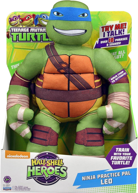 Teenage Mutant Ninja Turtles Pre-Cool Half Shell Heroes Ninja Practice Pal Leonardo Plush