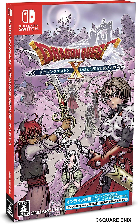 Square Enix Dragon Quest X Espinas del chamán y la destrucción de Dios en línea - Interruptor: Amazon.es: Juguetes y juegos