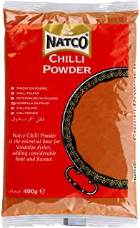 Natco Chilli Powder - 5 Paquetes de 400 gr - Total: 2000 gr
