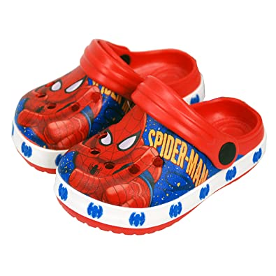 f41bc7b063a9 Marvel® Spider Man Official Children Kids Boys Sandals Swimming Pool Beach  Slippers Shoes UK Sizes
