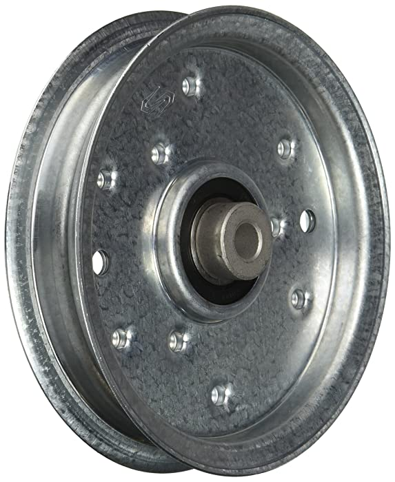 MaxPower 12675 Flat Idler Pulley for MTD/Cub Cadet/Troy-Bilt Replaces 956-04129, 753-08171, 756-04129, 75604129B, & 75604129C