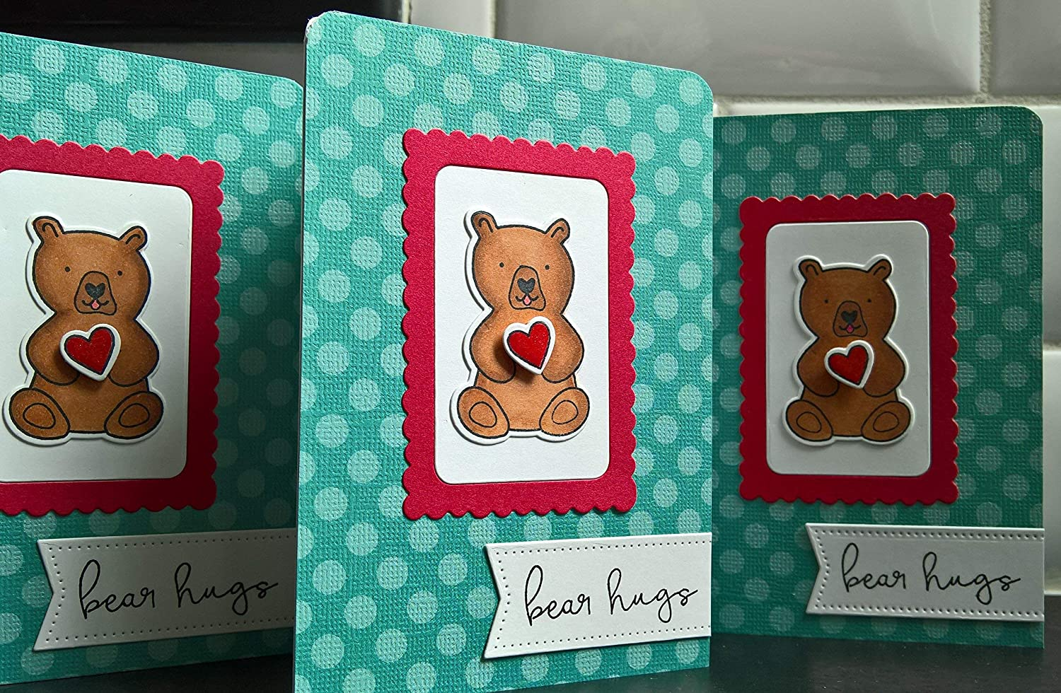 Bear Get Well Card Thinking of You