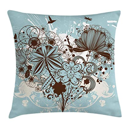 Amazon.com  Ambesonne Grunge Throw Pillow Cushion Cover cc61082c1