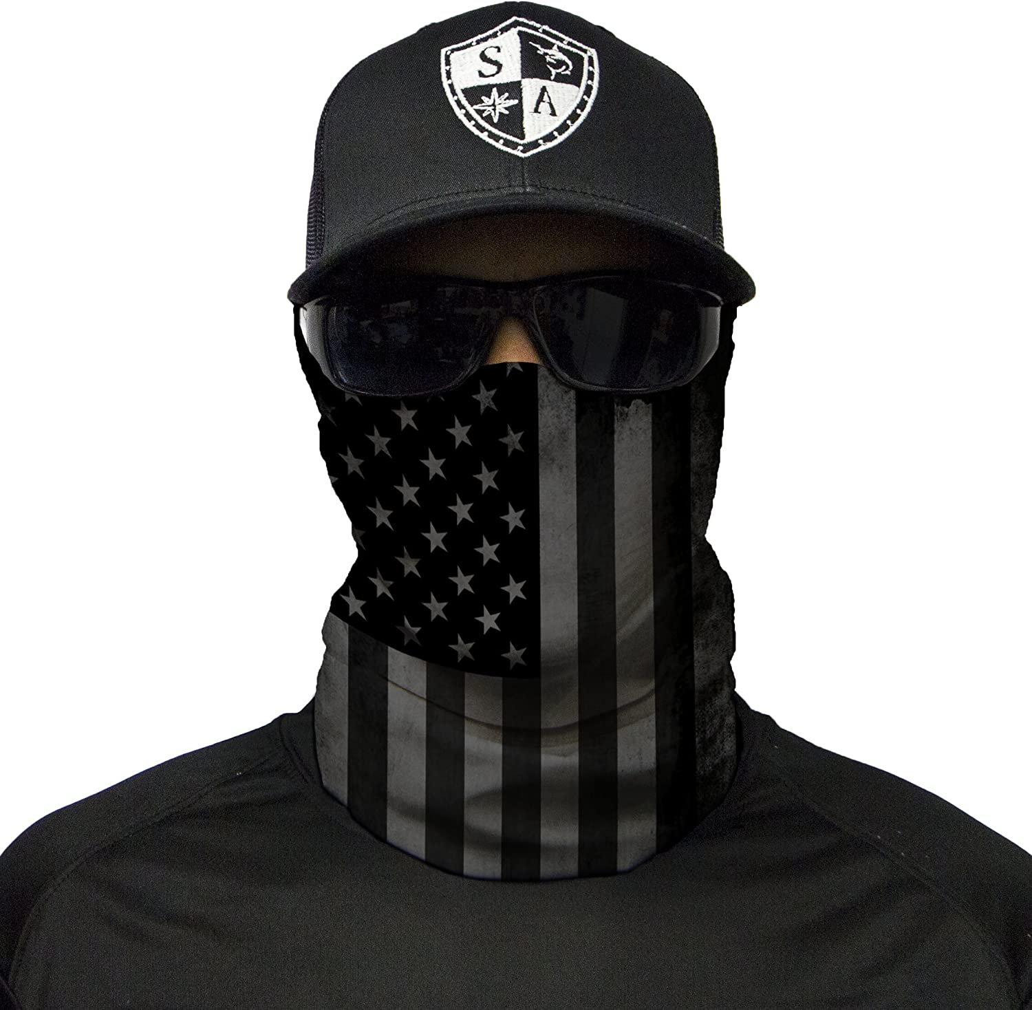 Department of Defense Logo Outdoor Face Mouth Mask Windproof Sports Mask Ski Mask Shield Scarf Bandana Men Woman