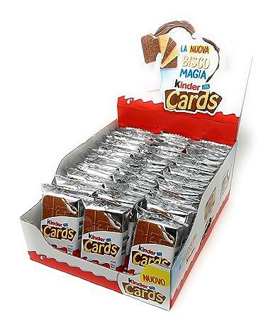 Kinder Cards - Juego de obleas con relleno de leche y cacao ...
