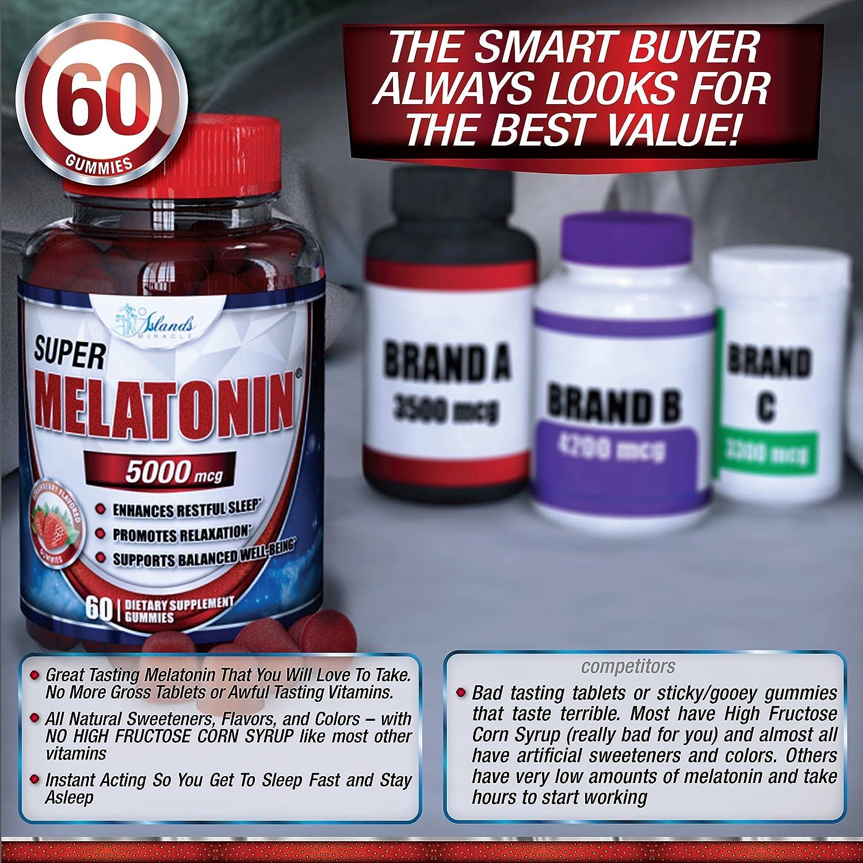 Magnesium Glycinate 200mg and Melatonin (Sleep Bundle) 10mg Gummies Ultra  Bioavailable Best