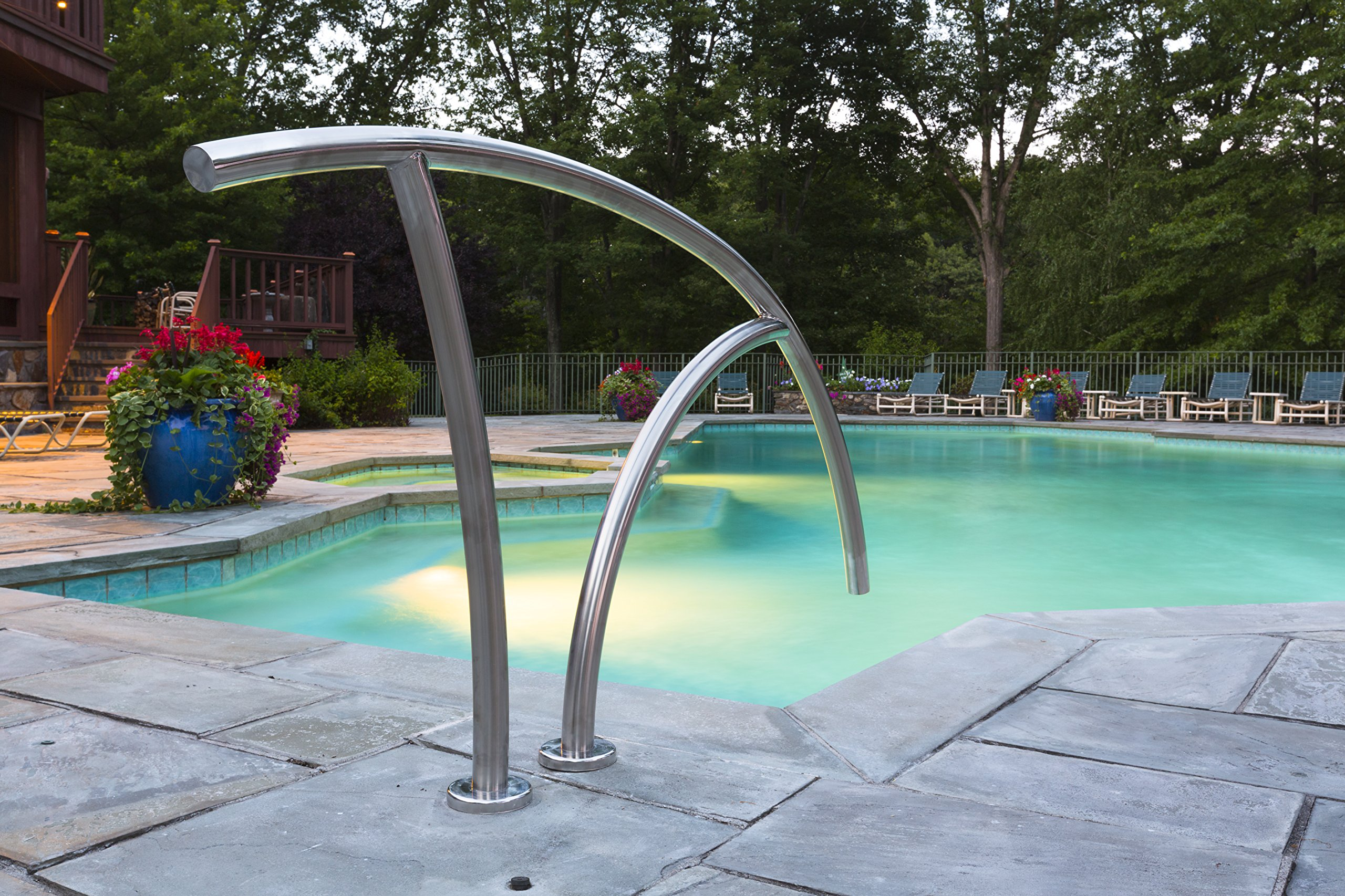 S.R.Smith ART-1004-MG Artisan Series Pool Rail, Stainless Steel by S.R. Smith