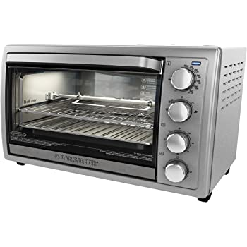 Amazon Com Black And Decker To4314ssd Rotisserie Toaster