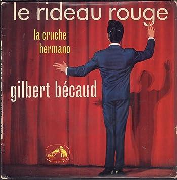Le Rideau Rouge - 3 track EP - Gilbert Becaud: Amazon.de: Musik