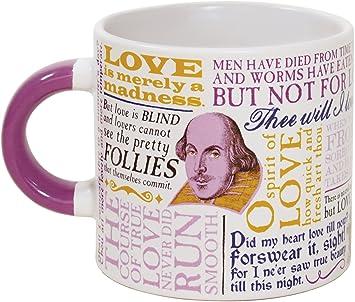 Amazon Shakespeare Love Coffee Mug Shakespeares Most Famous