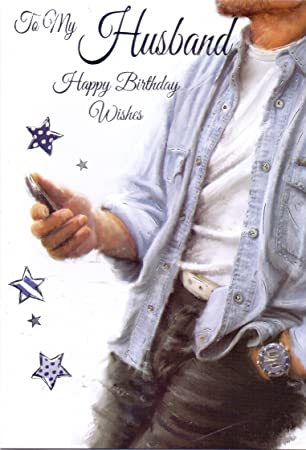 To My Husband, Happy Birthday Wishes – Handy/SMS Geburtstagskarte