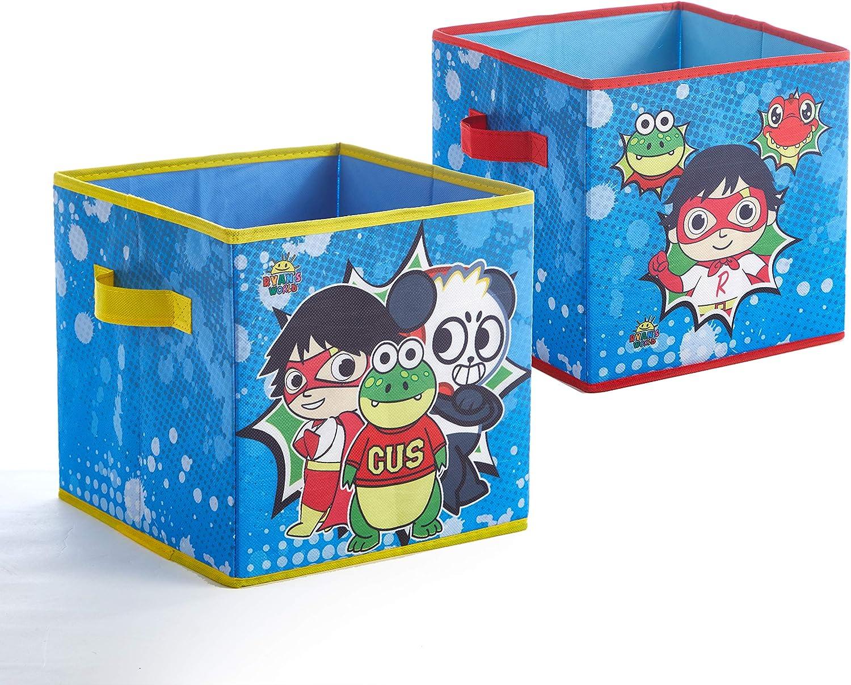 RYAN'S WORLD 2 Pack Storage Cube, Blue