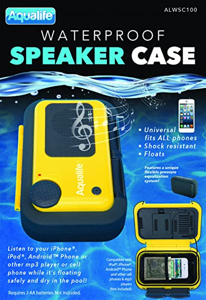 AquaLife Floating Waterproof Speaker Case