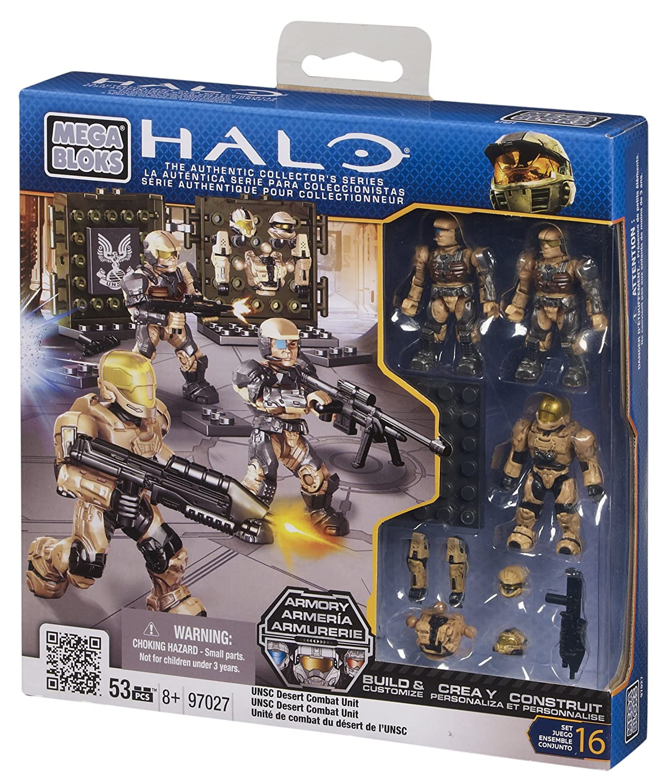Mega Bloks 97027 - Halo UNSC Desert Combat Unit