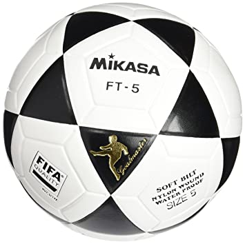 cd3c5bb6b2d Mikasa Ft-5 Pro - Balón de fútbol, Color Negro y Blanco: Amazon.es:  Deportes y aire libre