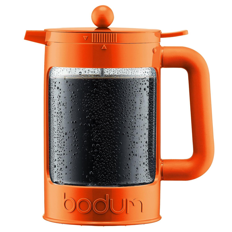 BODUM Bean 3 Cup French Press Coffee Maker, Black, 0.35 l, 12 oz 11375-01