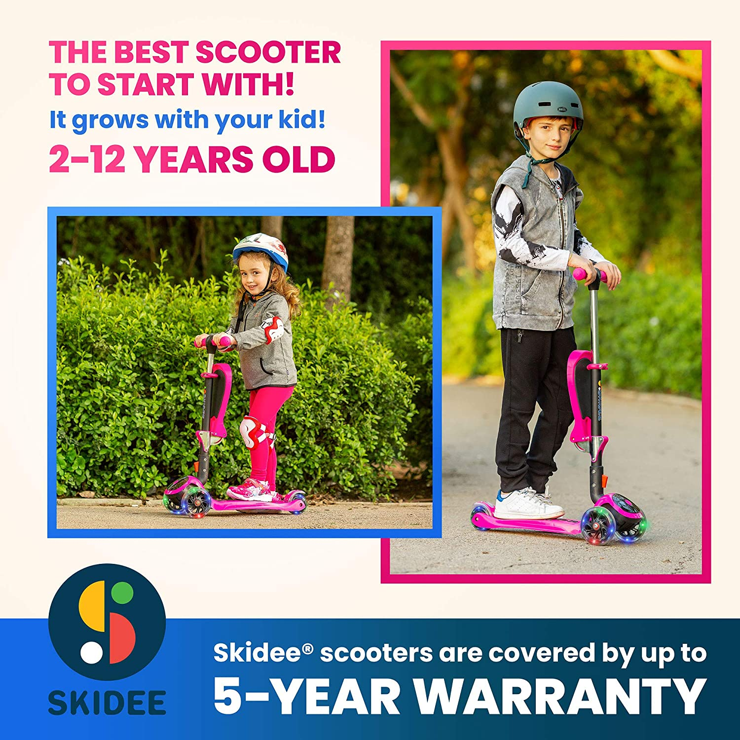 S SKIDEE Scooter for Kids