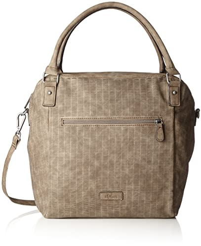 34b3258282a84 s.Oliver (Bags) Shopper, Women s Top-Handle Bag, Braun (Almond ...