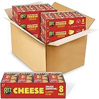 RITZ Cheese Sandwich Crackers, 48 - 1.38 oz Packs (6 Boxes)