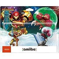 Nintendo Amiibo: Metroid - Samus Aran y Metroid (2 pack)