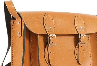 Oxbridge Satchel's 27,9cm Automne Tan Cuir anglais sacoche rétro classique Mode ordinateur portable/sac d'école