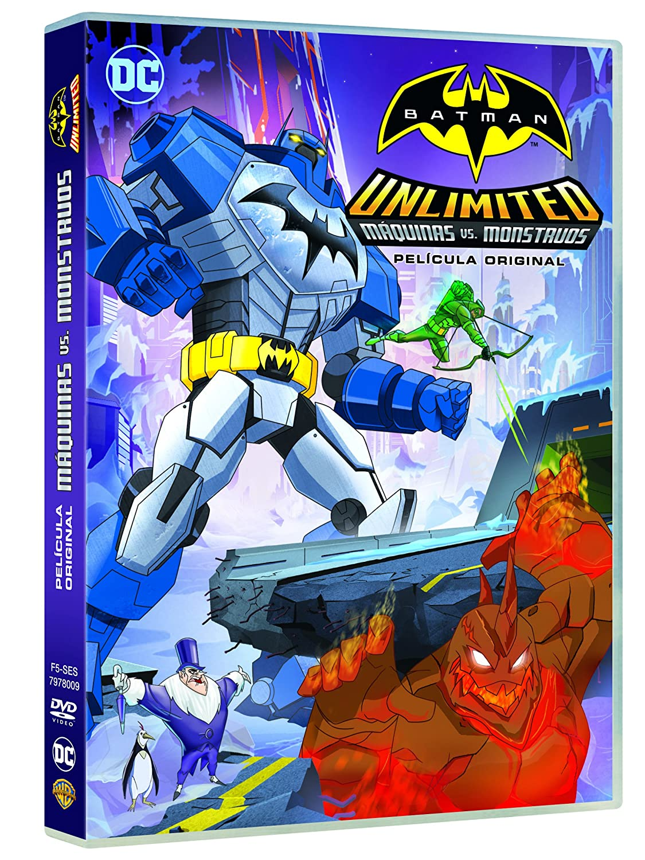 Amazon.com: Batman Unlimited : Máquinas Vs Monstruos ...