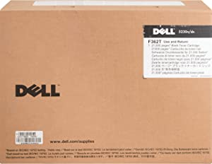 Dell F362T Toner Cartridge 5230n/5230dn/5350dn Laser Printers,Black,7 x 12 x 16