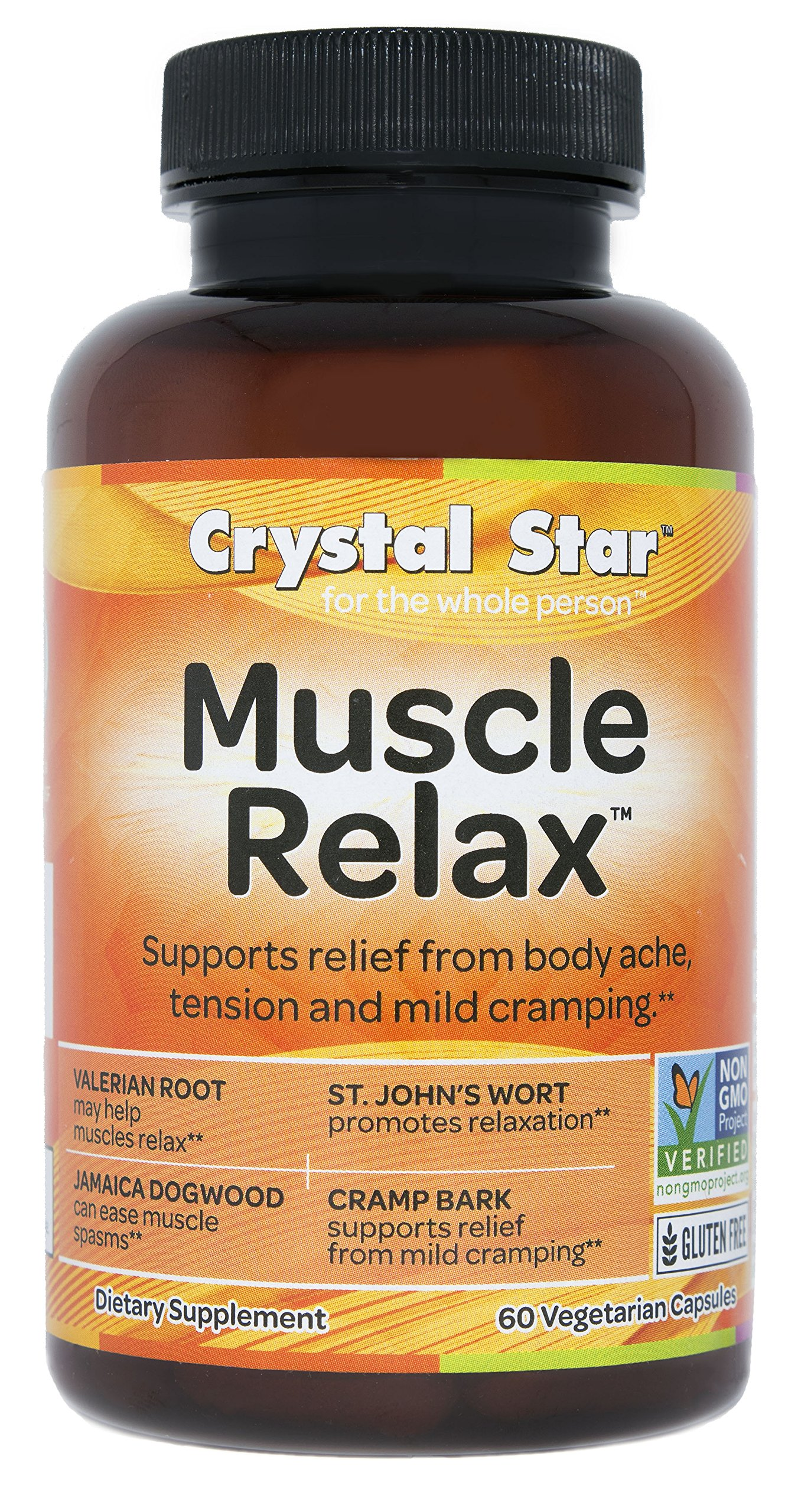 Crystal Star Muscle Relax, 60 Vegetarian Capsules by Crystal Star