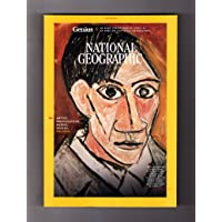 National Geographic Magazine - May, 2018. Picasso Issue. Pablo Picasso & Cubism; Mapping the Stars; Termite Tricks; South Sudan Refugees; Arctic Camping; Dinosaurs to Birds; Fakarava Shark Frenzy