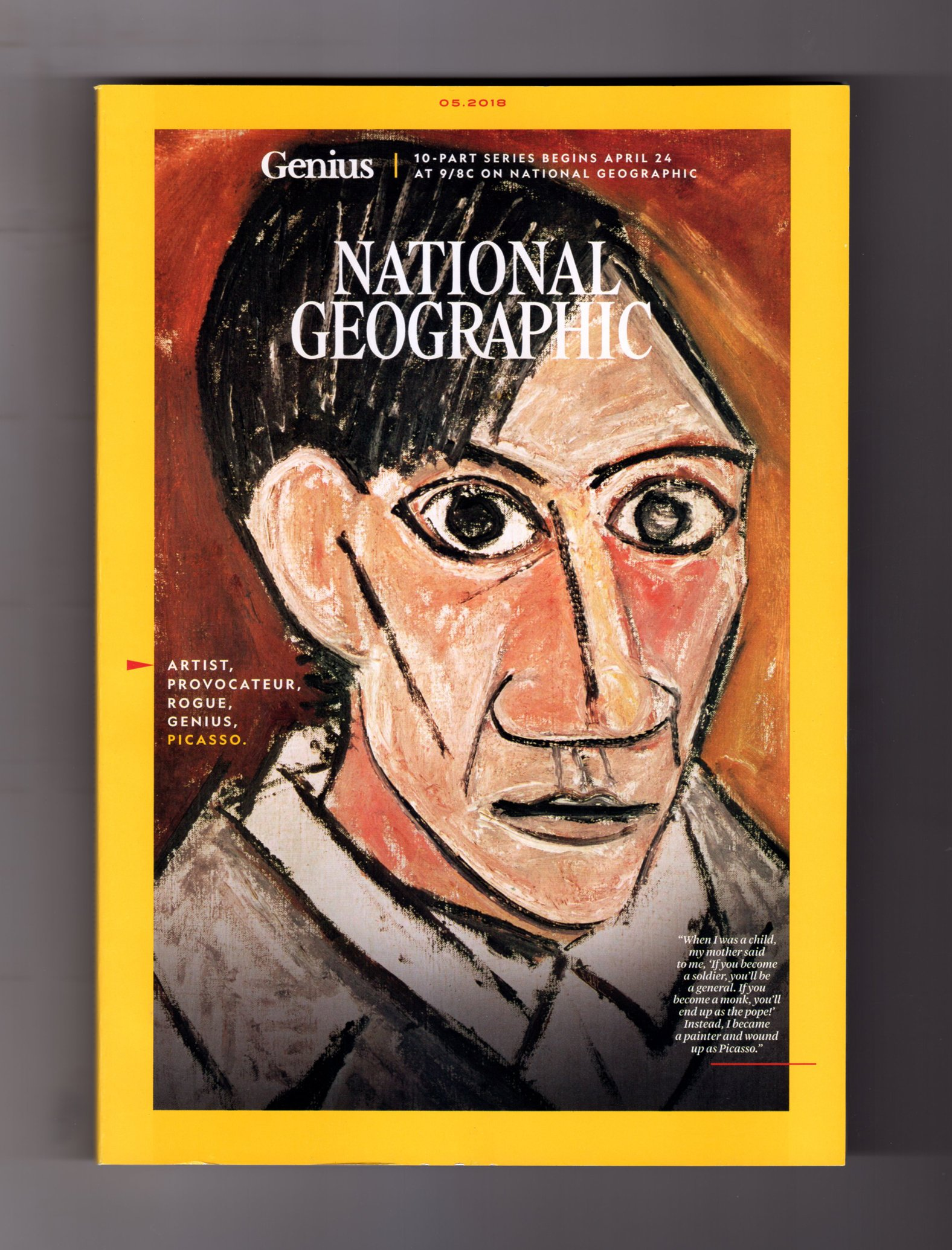 Download National Geographic Magazine - May, 2018. Picasso Issue. Pablo Picasso & Cubism; Mapping the Stars; Termite Tricks; South Sudan Refugees; Arctic Camping; Dinosaurs to Birds; Fakarava Shark Frenzy PDF
