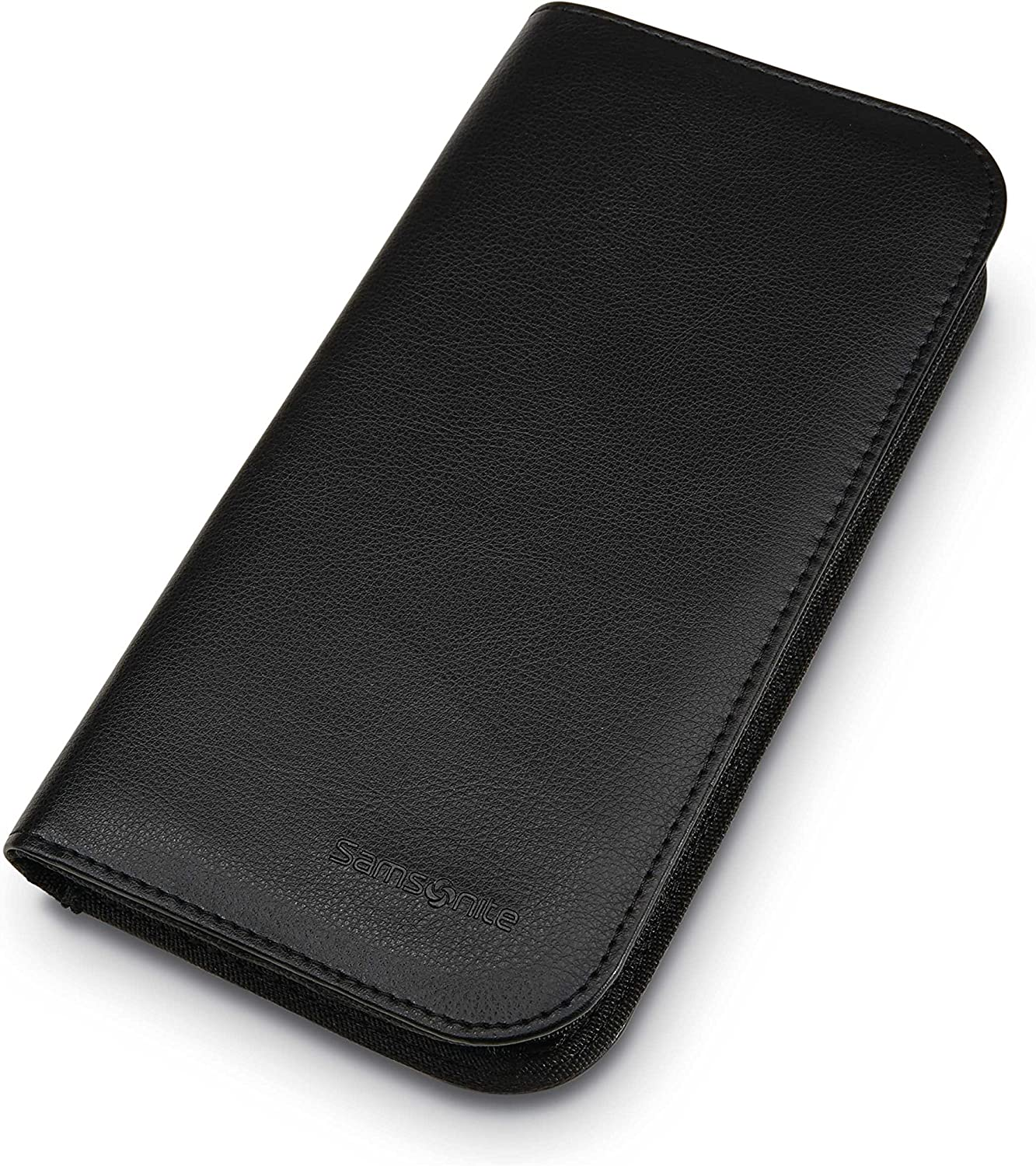 Samsonite Zip Close Travel Wallet, Black, One Size