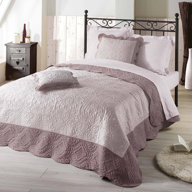 Maison du monde couverture finest superb maison du monde boutis couverture boutis table de lit - Dessus de lit boutis maison du monde ...