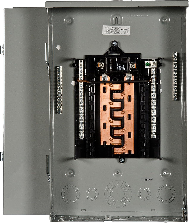 Siemens 16 Space, 24, Circuit, 100 Amp, Main Breaker, Outdoor Load Center, Copper Bus Bars