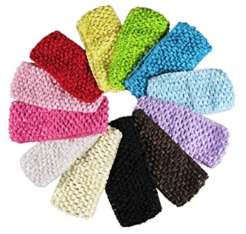 Amazon Baby Headbands For Girls Hipgirl 12 Pack 275 Wide