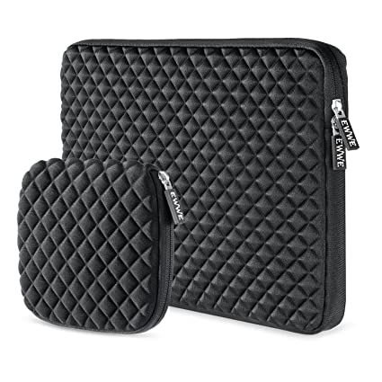 19e9d7355a50 EWWE 3D Protective Laptop Sleeve Case Bag for 15-15.6 inch ASUS ACER HP  Lenovo DELL Toshiba Samsung Chromebook Notebook Briefcase Cover, Diamond  Foam ...